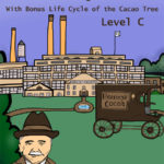 Milton Hershey Coloring Book (with Bonus Life Cycle of the Cacao Tree)-Level C