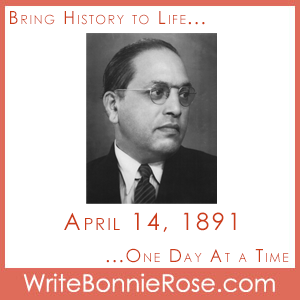 Timeline Worksheet, April 14, 1891, Dr. B.R. Ambedkar is Born
