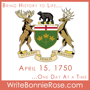 Timeline Worksheet: April 15, 1750, Building of Fort Toronto