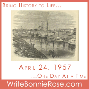 Timeline Worksheet: April 24, 1957, Suez Canal Re-Opens to Shipping