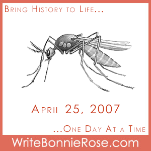 Timeline Worksheet: April 25, 2007, World Malaria Day