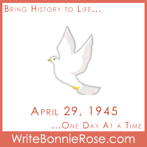 Timeline Worksheet: April 29, 1945, The Peace Rose