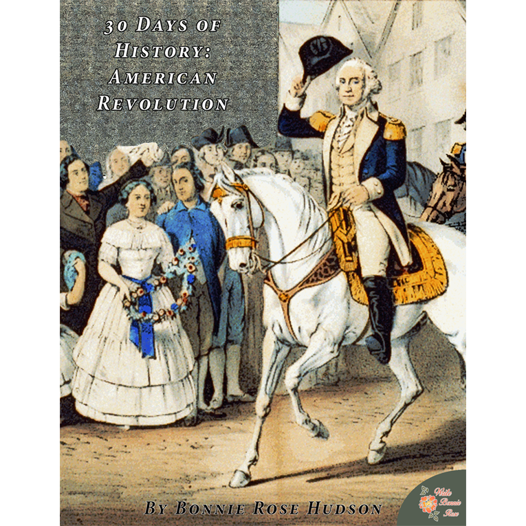 30 Days of History American Revolution Cover for WBR
