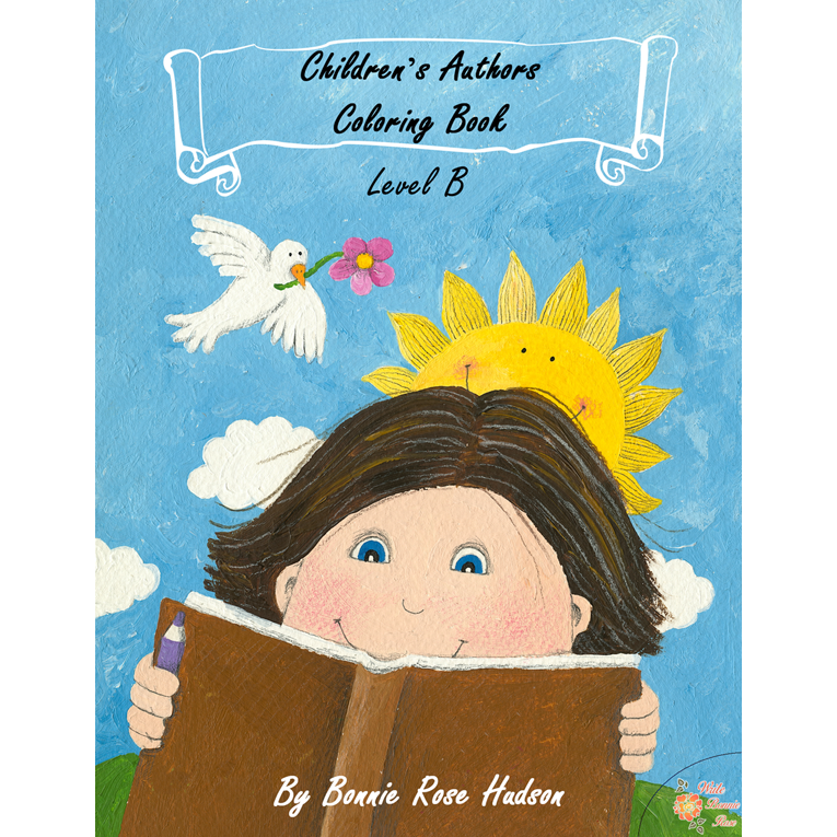 Children's Authors Coloring Book-Level B (e-book)