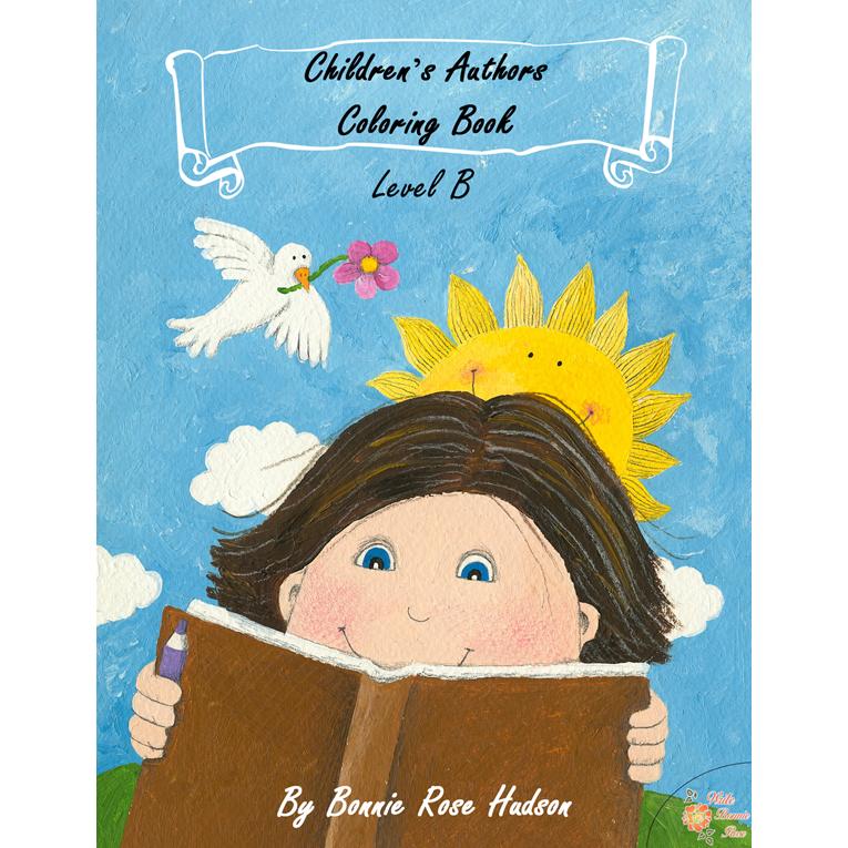 Children's Authors Coloring Book-Level B (e-book)