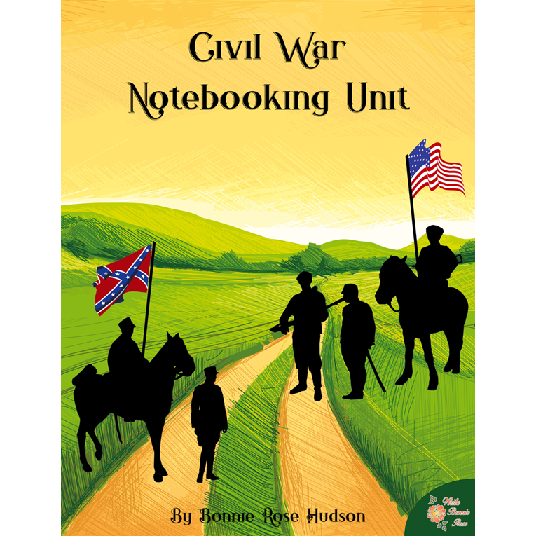 Civil War Notebooking Unit (e-book)