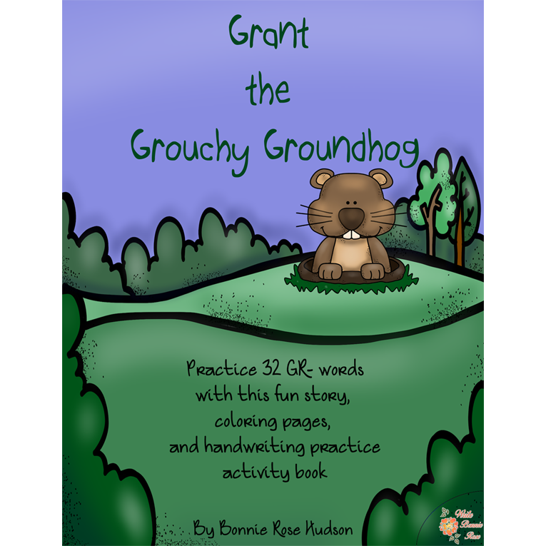 Grant the Grouchy Groundhog (e-book)