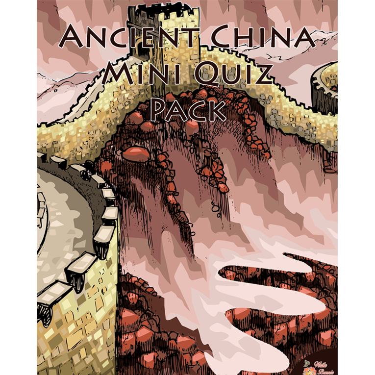 Ancient China Mini Quiz Pack (e-book)