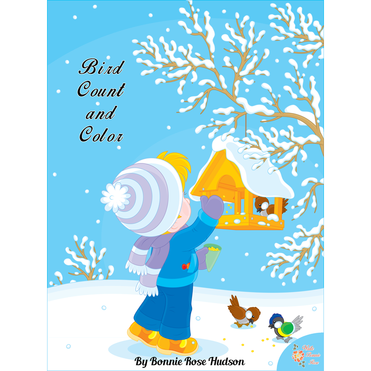 Bird Count and Color (e-book)