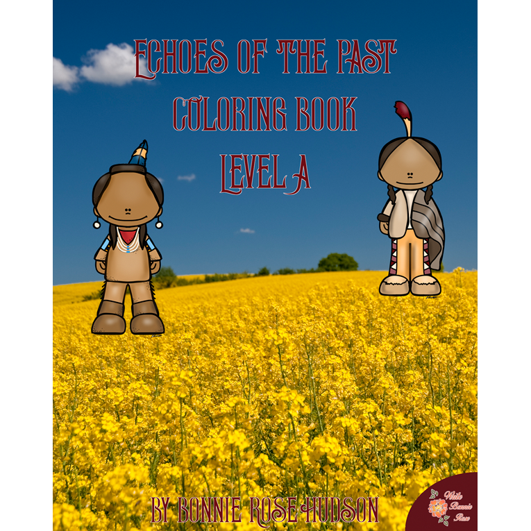 Echoes of the Past Coloring Book-Level A (e-book)