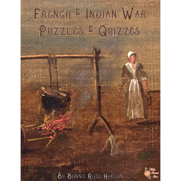 French and Indian War Puzzles and Quizzes (e-book)