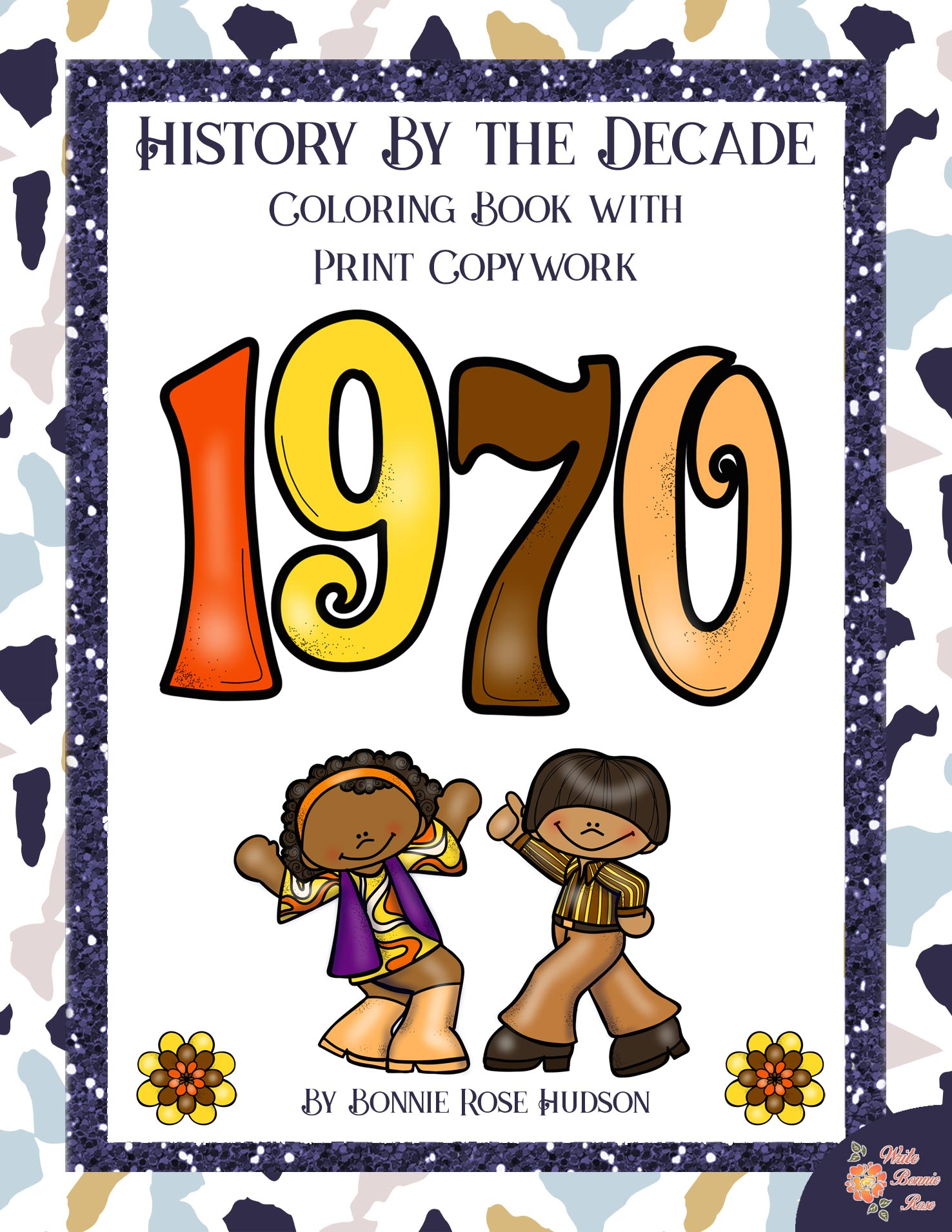 History By the Decade 1970s Coloring
