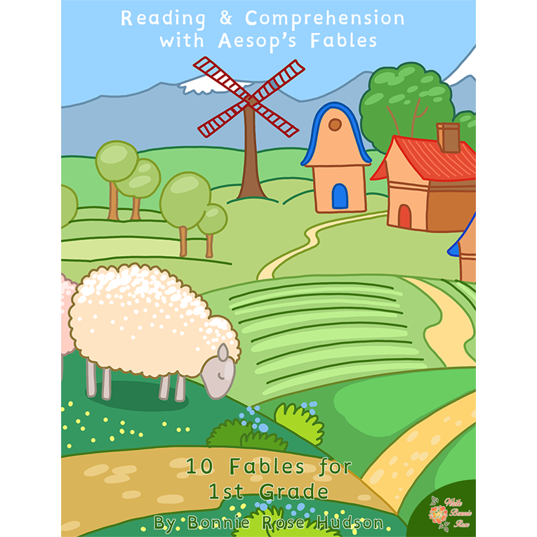 Reading & Comprehension with Aesop's Fables (e-book)