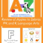 Review of Preschool and Kindergarten Language Arts