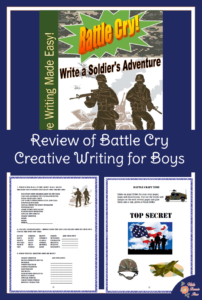 Review of Battle Cry-Creative Writing for Boys