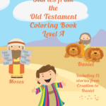 Stories from the Old Testament Coloring Book-Level A