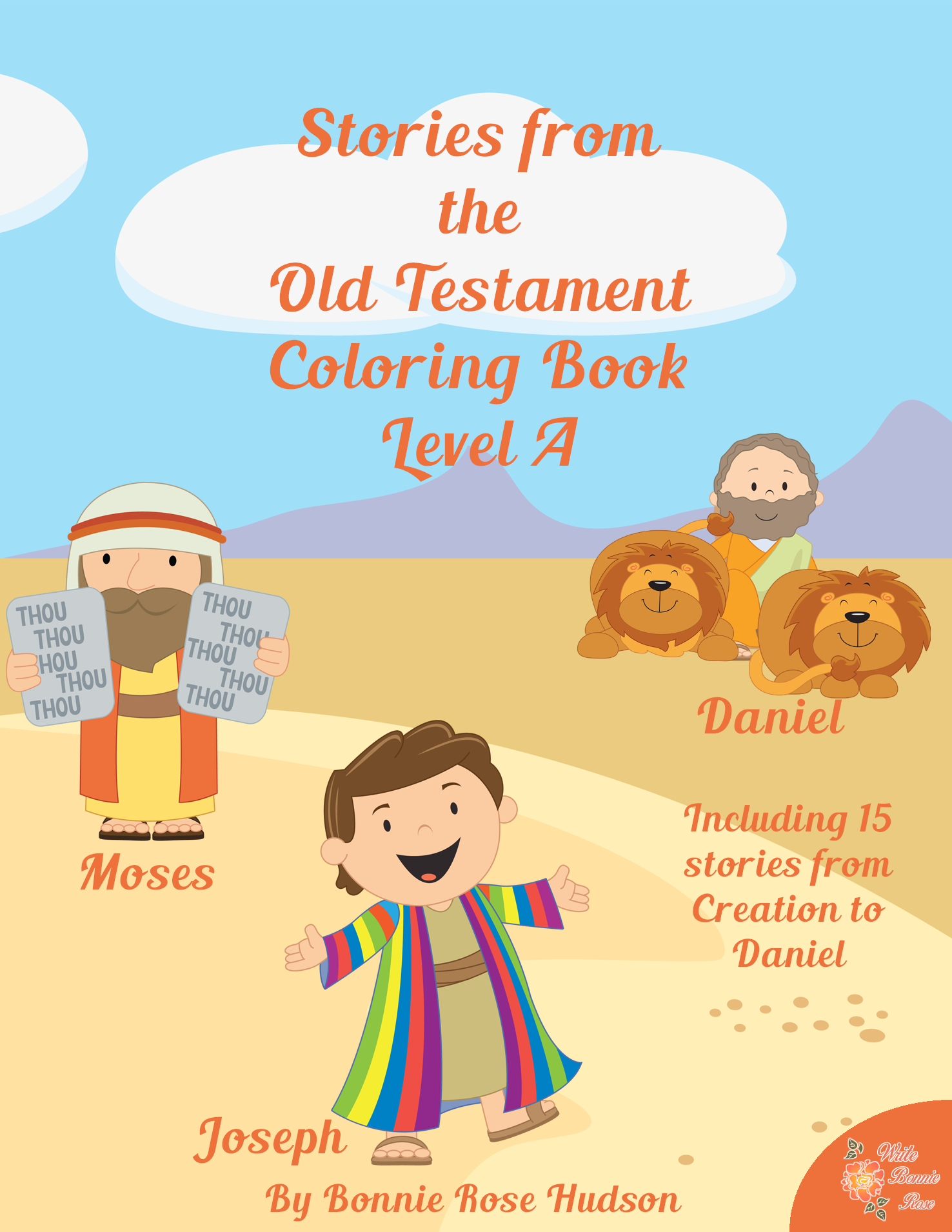 Stories From The Old Testament Coloring Book Level A