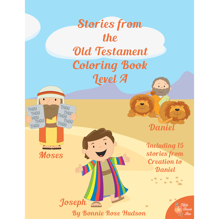Stories from the Old Testament Coloring Book-Level A (e-book)