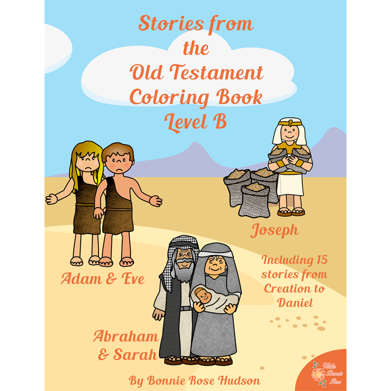 Stories from the Old Testament Coloring Book-Level B (e-book)
