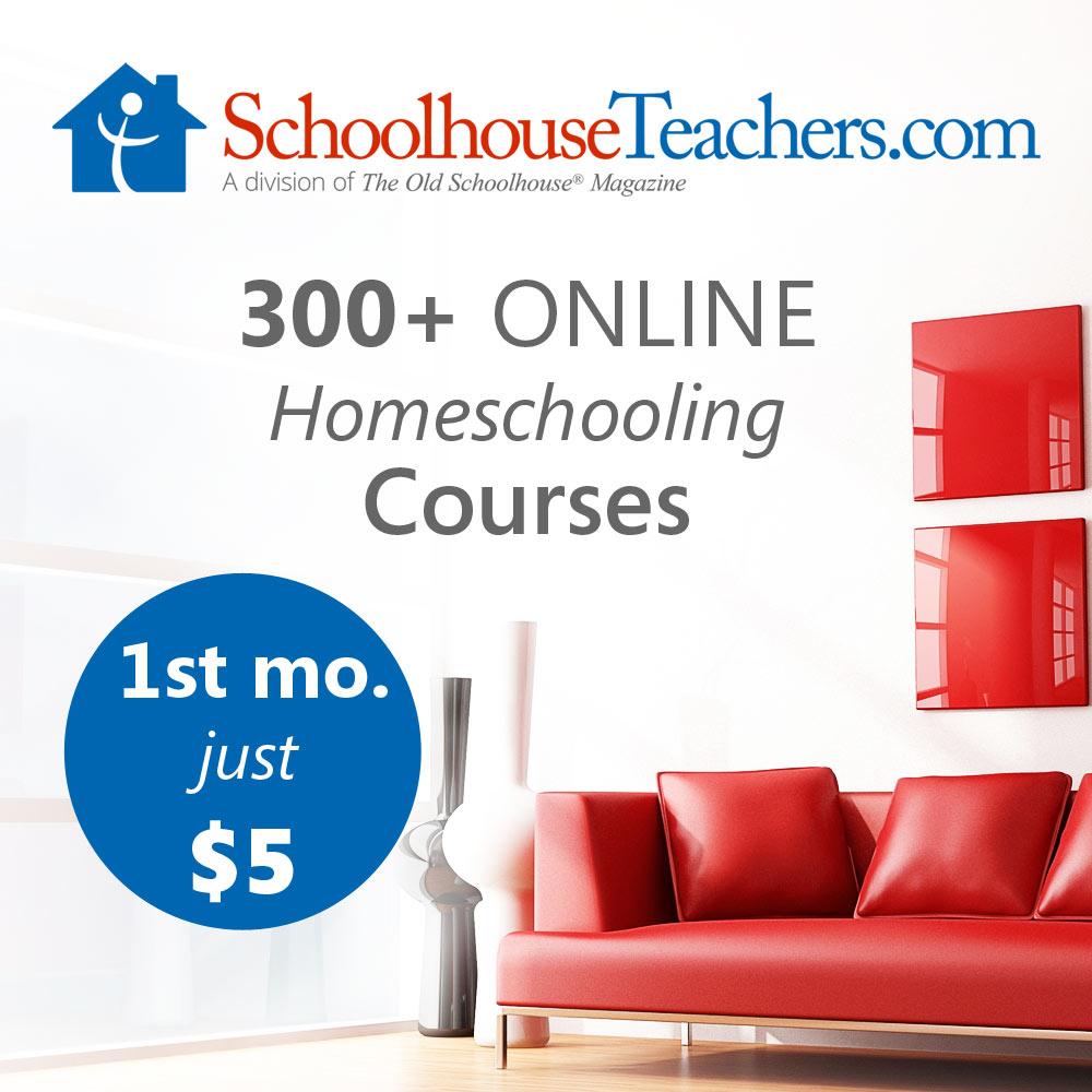 Schoolhouse Teachers Christian Homeschool Curriculum Online