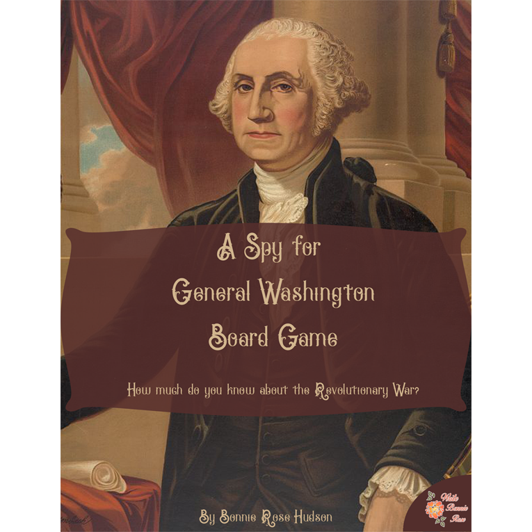A Spy for General Washington Board Game (e-book)
