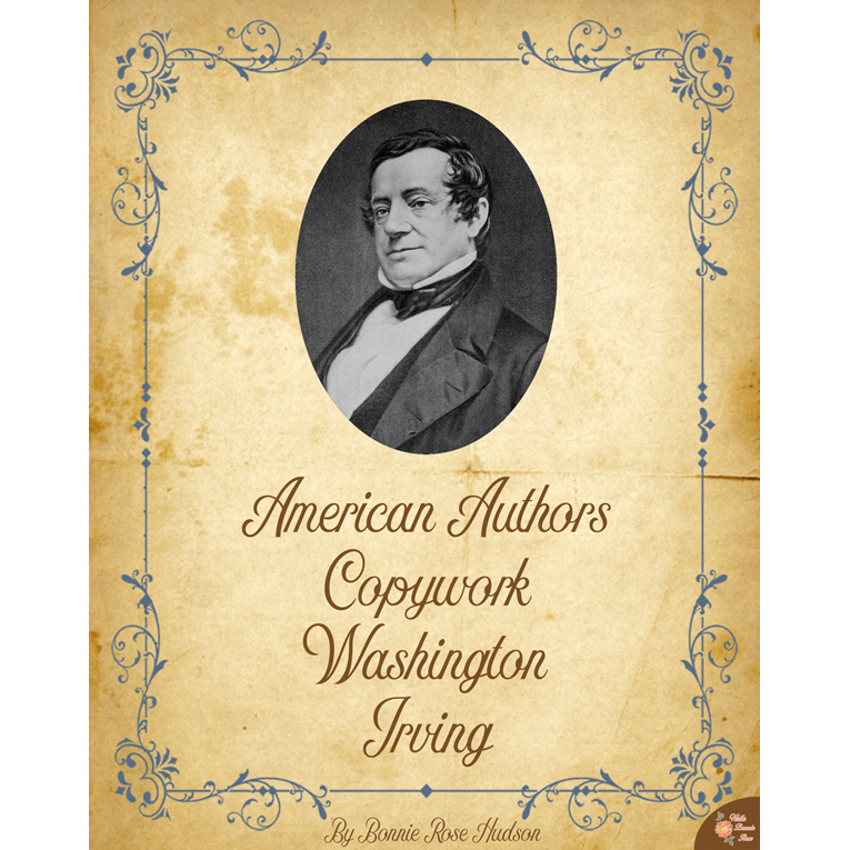 American Authors Copywork: Washington Irving (e-book)