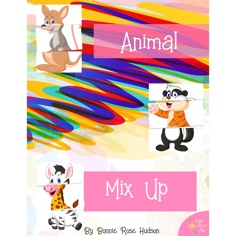Animal Mix-Up Game (e-book)
