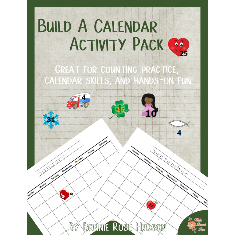 Build a Calendar Activity Pack (e-book)
