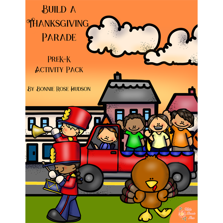Build a Thanksgiving Parade Activity Pack (e-book)