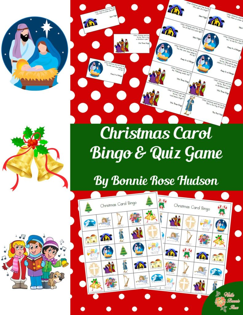 christmas carol bingo quiz game writebonnierosecom