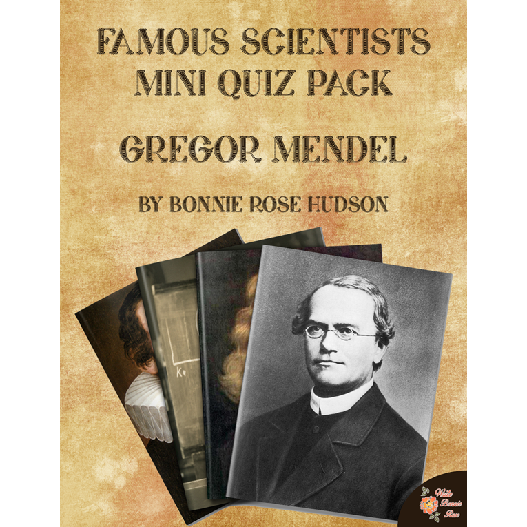 Famous Scientists Mini Quiz Pack: Gregor Mendel (e-book)