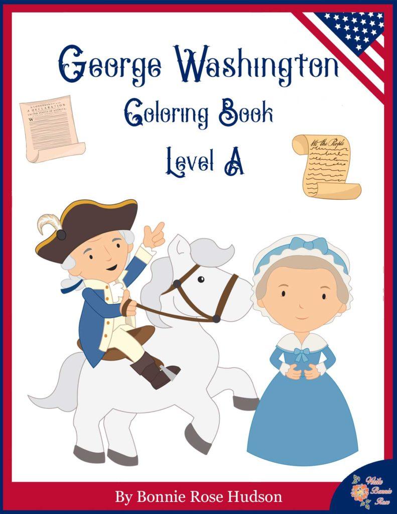 George Washington Coloring Book Level A