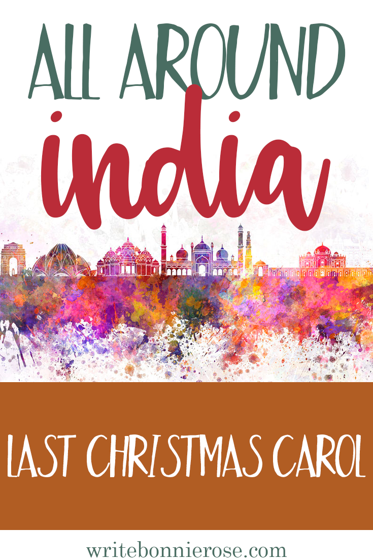 All Around India Notebooking Last Christmas Carol