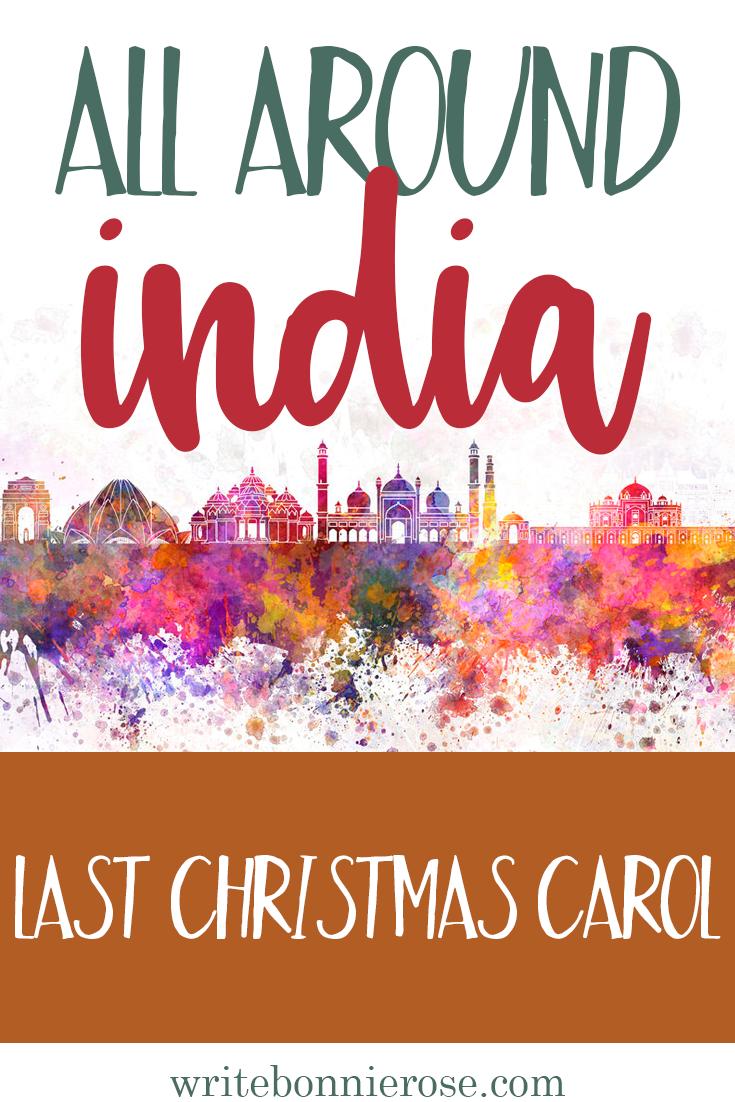 All Around India Notebooking Last Christmas Carol