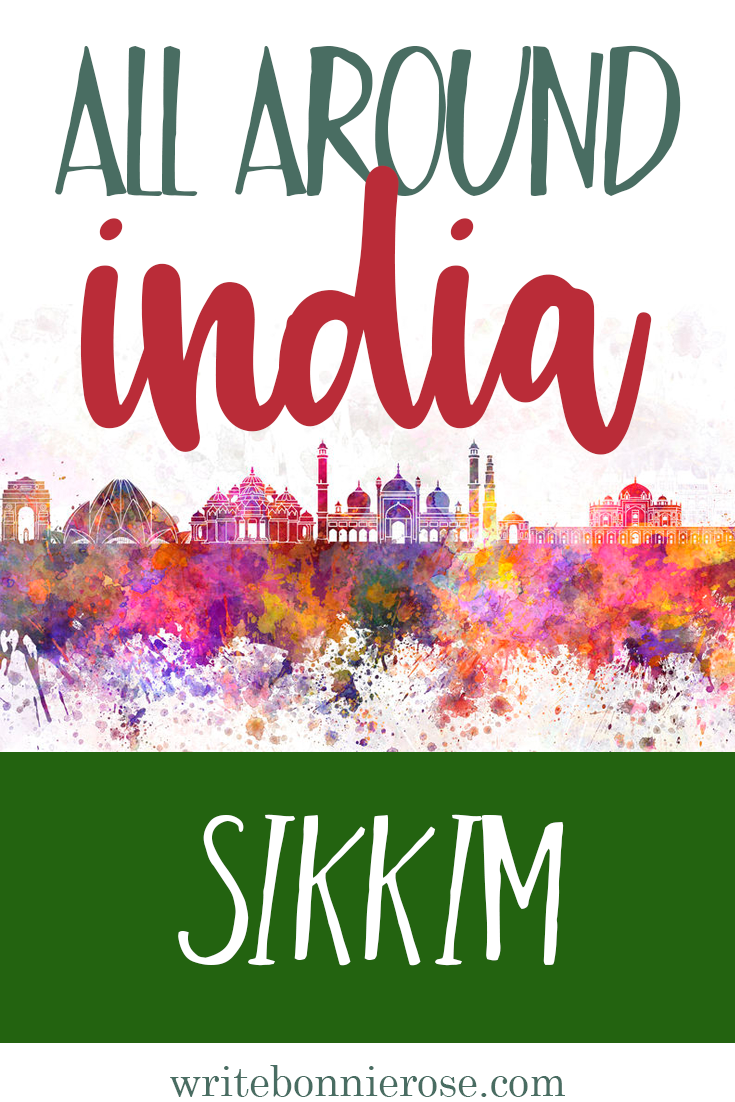All Around India Notebooking Sikkim