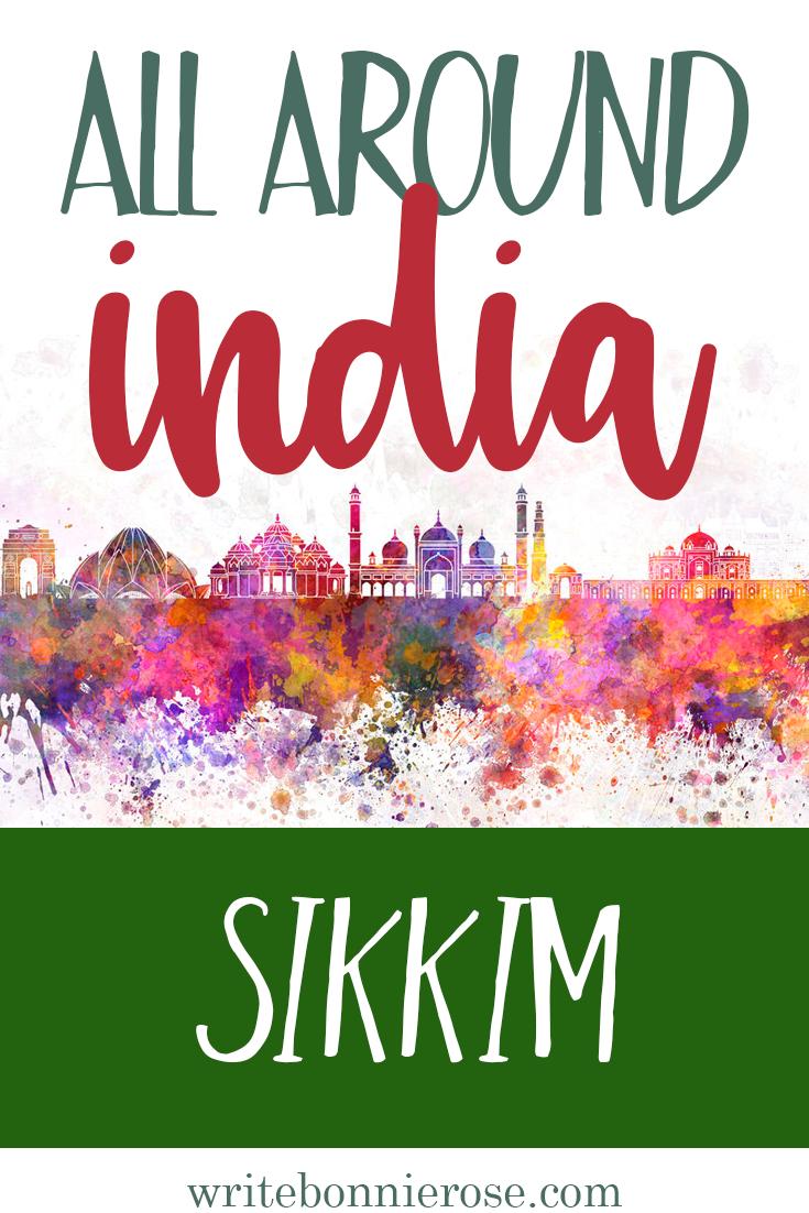 All Around India Notebooking Sikkim
