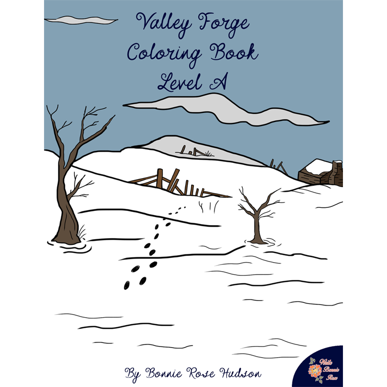 Valley Forge Coloring Book-Level A (e-book)