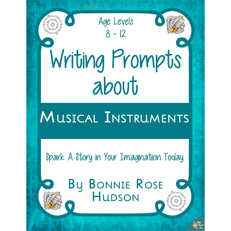 Writing Prompts About Musical Instruments (e-book)