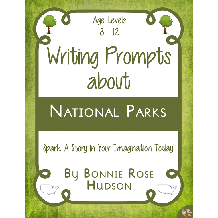Writing Prompts About National Parks cover for WBR