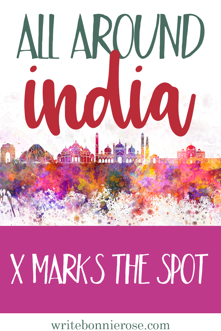 All Around India Notebooking X Marks the Spot