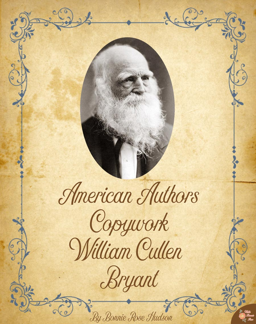 william cullen bryant biography essay And he offered to write some essays for the magazine william aspenwall william cullen bryant: a biography of william cullen bryant.