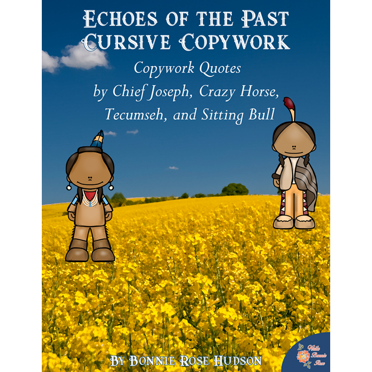 Echoes of the Past Copywork-Cursive (e-book)