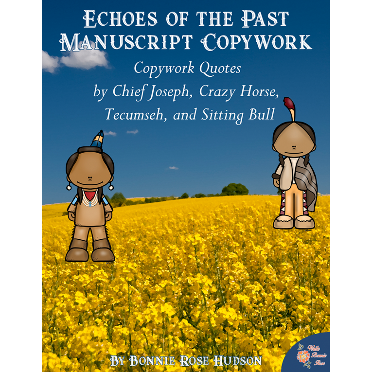 Echoes of the Past Copywork-Manuscript (e-book)