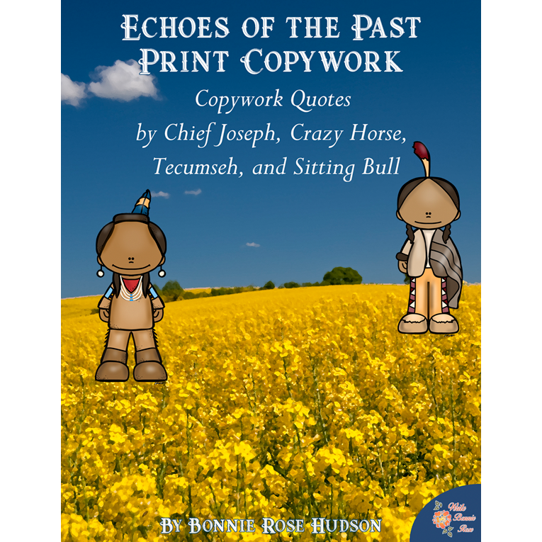 Echoes of the Past Copywork-Print (e-book)