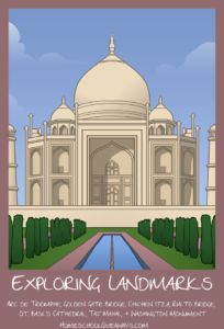 Free World Landmarks Pack Unit Four