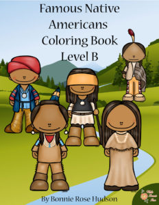 Twelve Coloring Pages With Large Print Copywork To Trace Perfect For Young Writers Meet Black Hawk Chief Joseph Seattle Concomly Crooked Hand