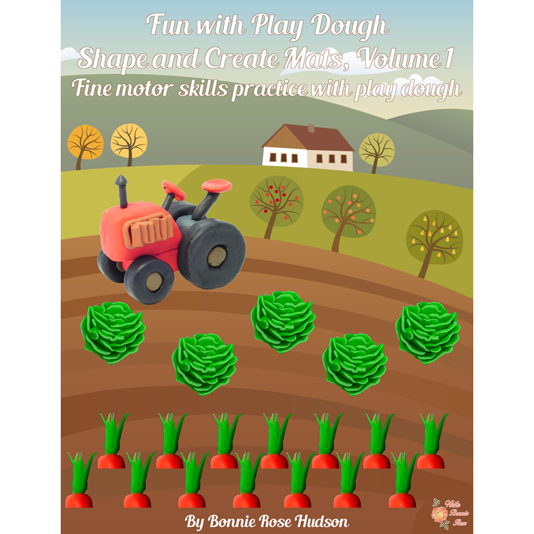 Fun With Play Dough, Shape and Create Mats, Volume 1 (e-book)