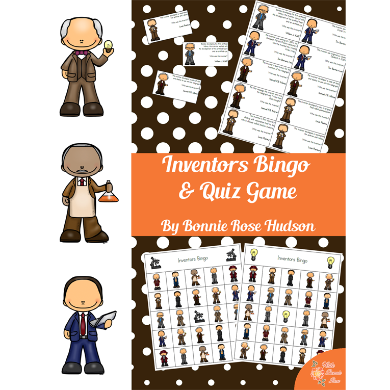 Inventors Bingo & Quiz Game (e-book)