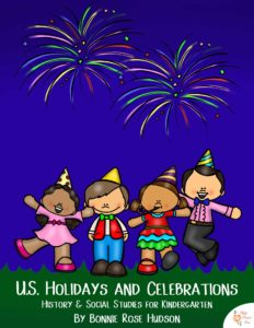 US Holidays and Celebrations for Kindergarten