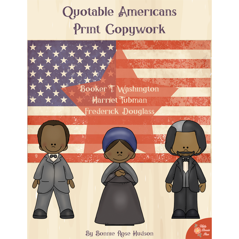 Quotable Americans Copywork-Print (e-book)